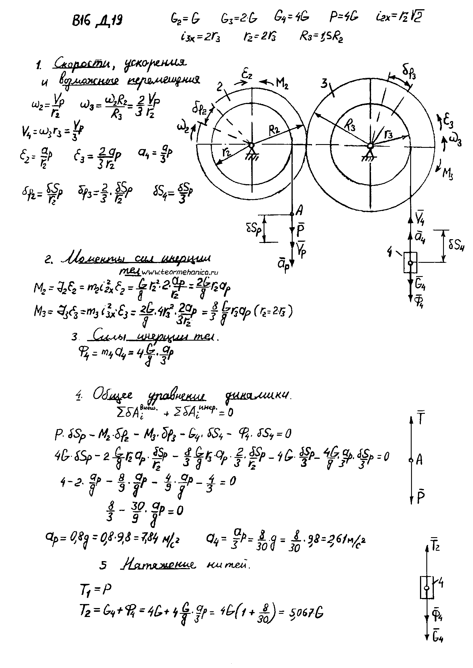 яблонского д 22 решебник