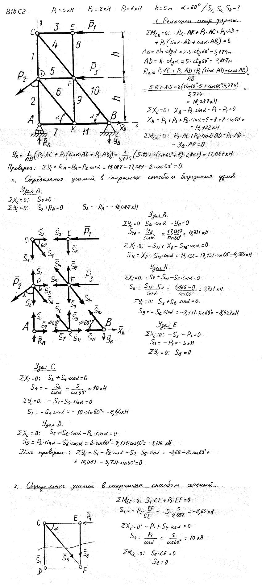 с2 яблонский вариант 1 решебник