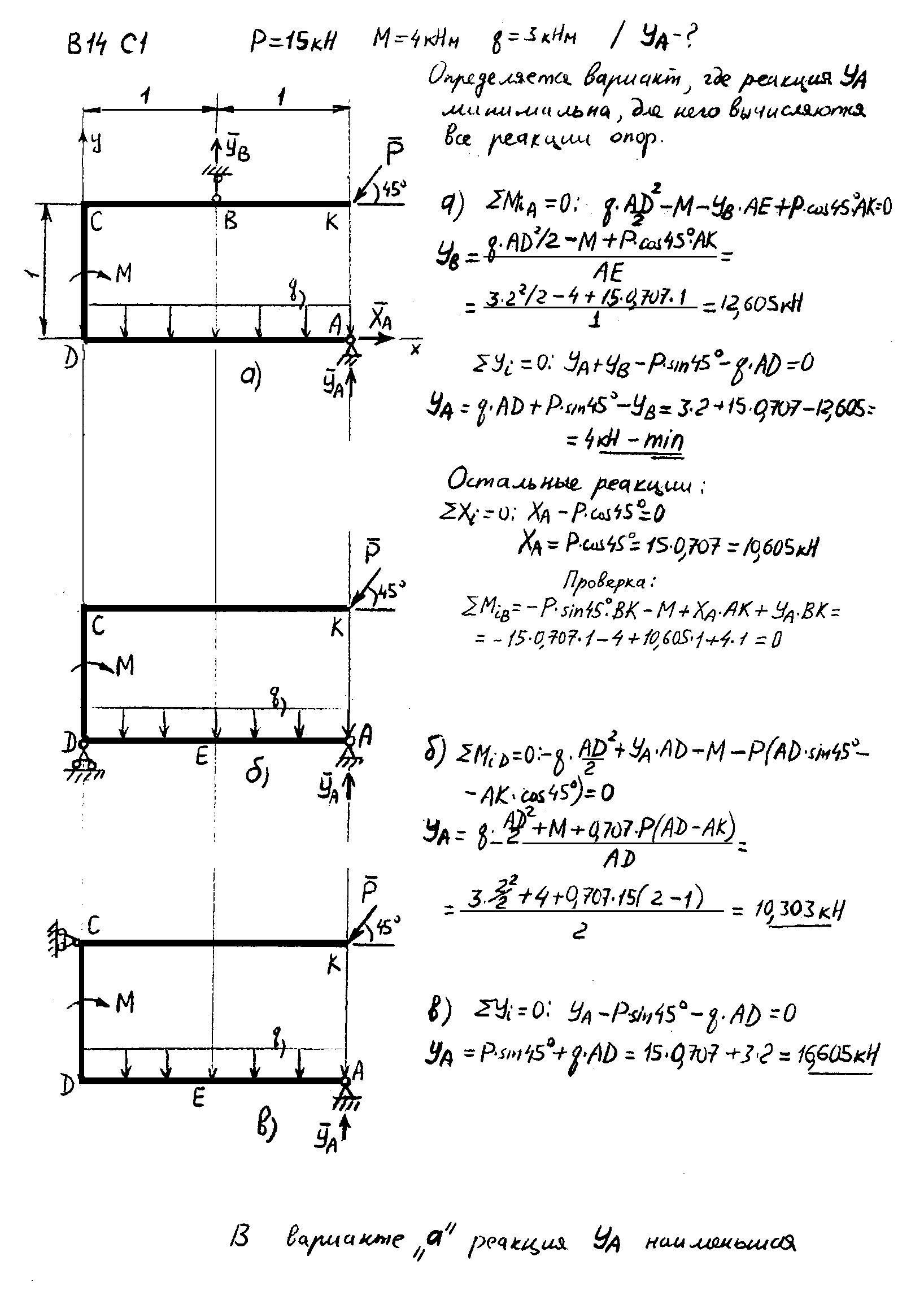 Решение задачи с1 яблонский как решить задачу с геометрии