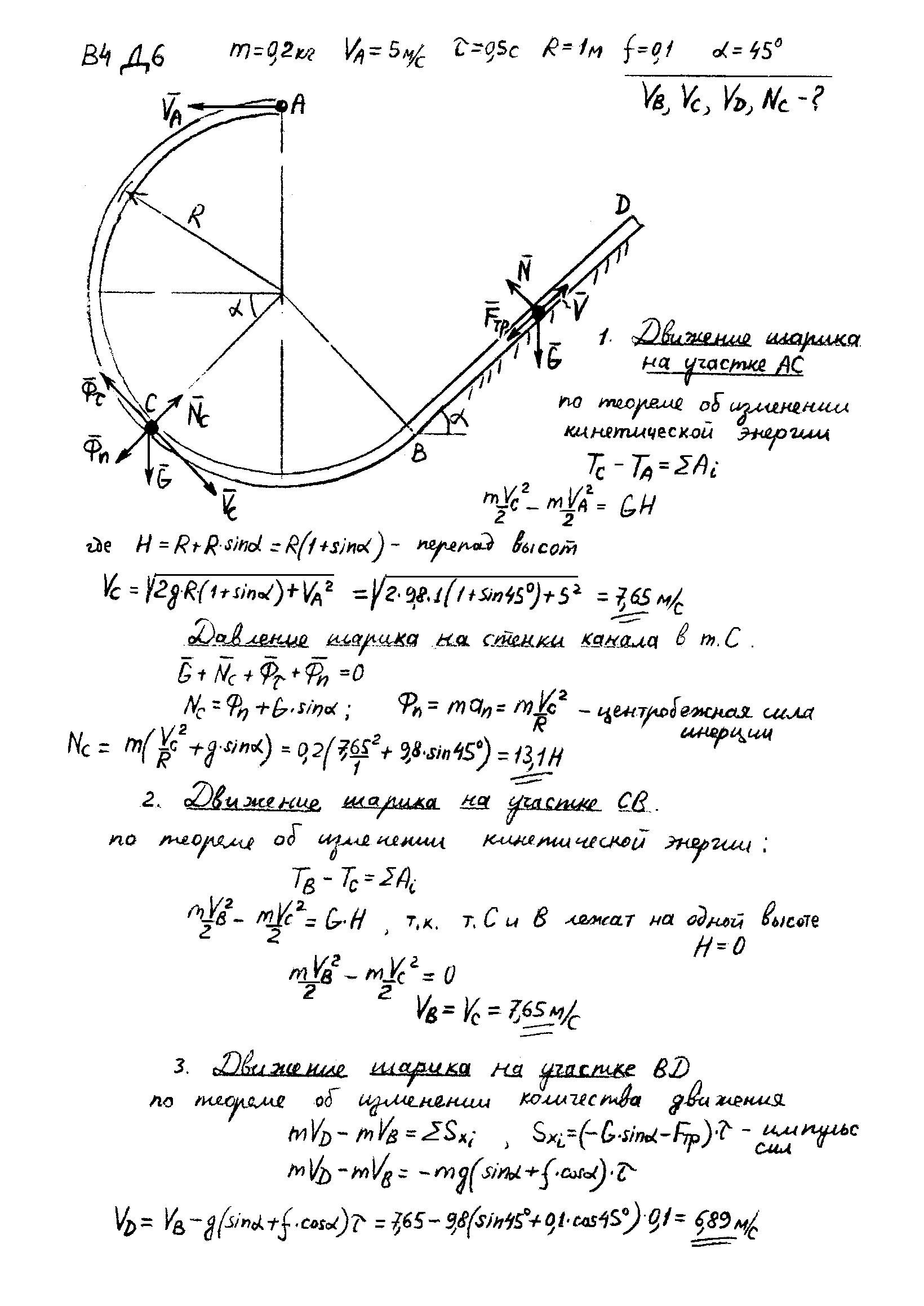 решебник яблонского д.21 вариант 6