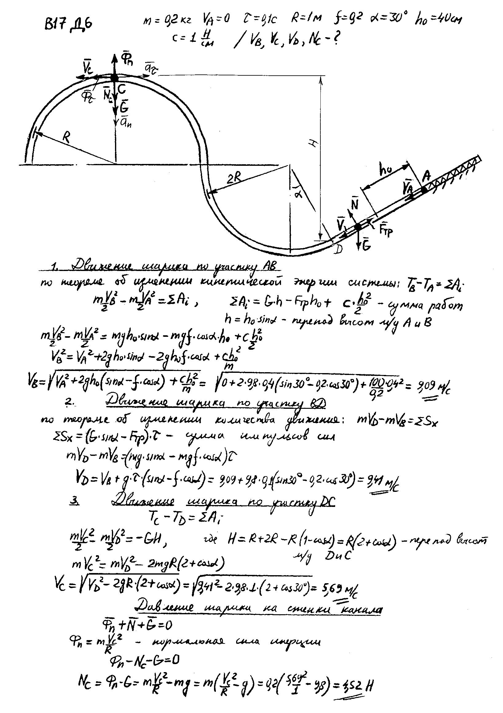 решебник к сборнику задач с механики яблонского